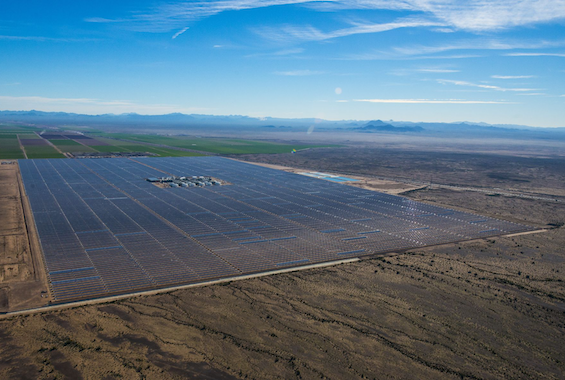 'Solana' Solar Power Plant Arizona, USA